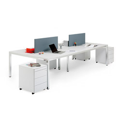 P50 | Systèmes de tables de bureau | ICF