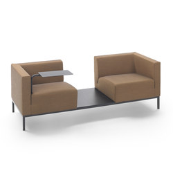 Ascot Comp Sofa | Waiting area benches | Marelli
