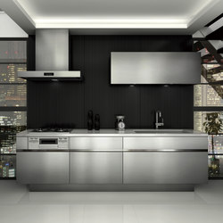 Grad45 (Vibration finish) | Fitted kitchens | Sanwa Company