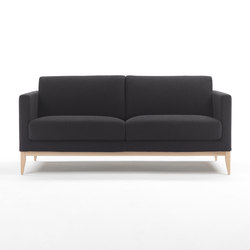 Cubic Wood Sofa | Loungesofas | Marelli