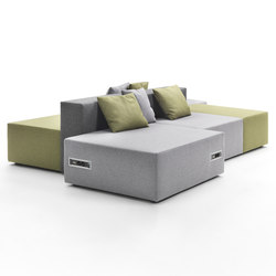 Lounge Composition | Modular seating systems | Giulio Marelli