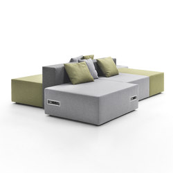 Lounge Composition | Modular seating systems | Marelli