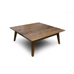 Callisto Coffee Table -  American Black Walnut | Tables basses | Boss Design
