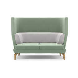 Entente High Back | Loungesofas | Boss Design