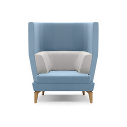Entente High Back | Lounge chairs | Boss Design