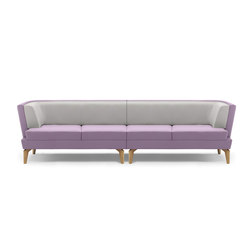 Entente Low Back | Lounge sofas | Boss Design