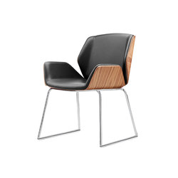 Kruze Meeting - Sled Base | Chairs | Boss Design