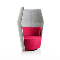 Peek upholeterd with boo unit | Loungesessel | Boss Design