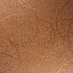 Angel | Copper | Carta parati / tappezzeria | Luxe Surfaces