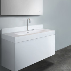 "blu•stone™  39¼"" basin backsplash 