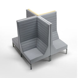 Stripes Armchair Composition | Modular seating elements | Marelli