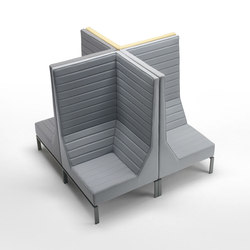 Stripes Armchair | Modular seating elements | Giulio Marelli