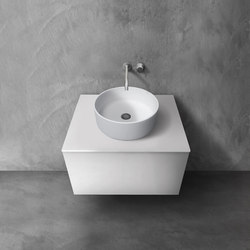blu•stone™ vanity countertop | series 700 | Mineral composite panels | Blu Bathworks