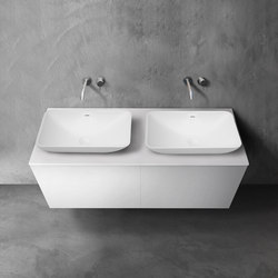 blu•stone™ vanity countertop | series 1400 | Vanity units | Blu Bathworks
