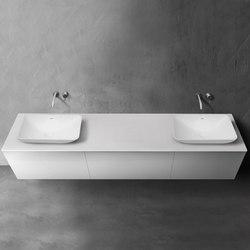 blu•stone™ vanity countertop | series 2700 | Vanity units | Blu Bathworks