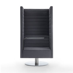 Stripes Swivel Armchair | Poltrone | Marelli