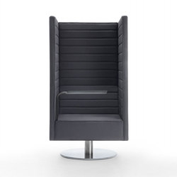 Stripes swivel  Armchair | Éléments de sièges modulables | Giulio Marelli