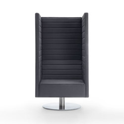 Stripes swivel  Armchair | Modular seating elements | Giulio Marelli