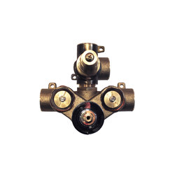 "rough-in valves | pure•2 | opus•2 | 1/2"" thermostatic tub/shower rough-in valve with 2-way diverter 