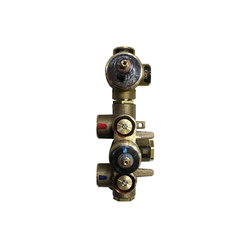 "rough-in valves | pure•2 | opus•2 | 3/4"" thermostatic tub/shower rough-in valve with 2-way diverter 