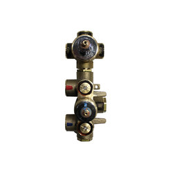 "rough-in valves | pure•2 | opus•2 | 3/4"" thermostatic tub/shower rough-in valve with 3-way diverter 