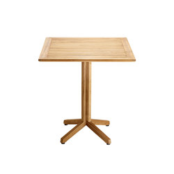 Cube Folding Table, squared | Tables de bistrot de jardin | solpuri