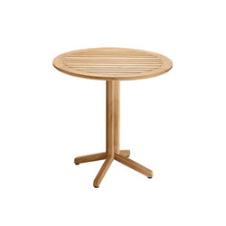 Cube Folding Table, round | Bistro tables | solpuri