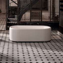 BetteLux Oval Couture Free-standing bath | Baignoires ilôts | Bette