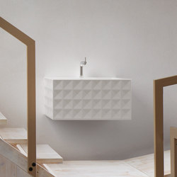 BetteLoft Ornament Wall mounted washbasin | Lavabos | Bette