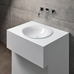 BetteLux Oval Circular built-in washbasin | Wash basins | Bette