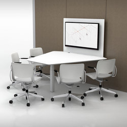 Tek Pier | Multimedia conference tables | Teknion