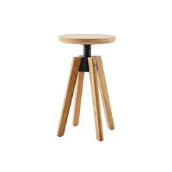 Spindle Drehhocker | Gartenhocker | solpuri