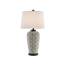 Abenaki Table Lamp | General lighting | Currey & Company