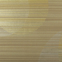 Cirque Stria | Antique Gold | Carta parati / tappezzeria | Luxe Surfaces