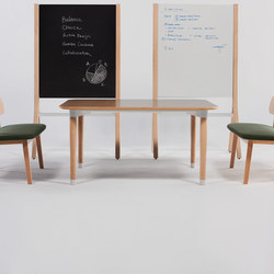Zones Workshop Tables | Tables collectivités | Teknion