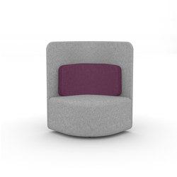 Shuffle | Poltrone lounge | Boss Design