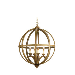 Axel Orb Chandelier, Large | General lighting | Currey & Company