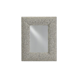 Batad Shell Mirror | Miroirs | Currey & Company