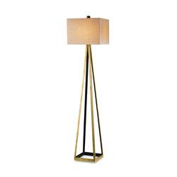 Bel Mondo Floor Lamp, Gold | General lighting | Currey & Company