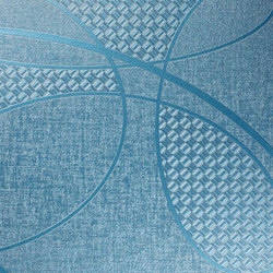 Geisha | Blue Ice | Wall coverings / wallpapers | Luxe Surfaces