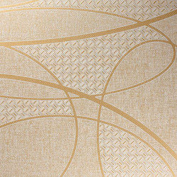 Geisha | Platinum | Wall coverings / wallpapers | Luxe Surfaces