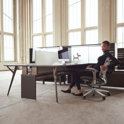 upStage | Desking systems | Teknion