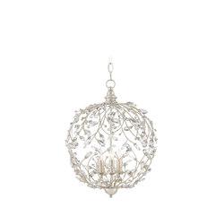 Crystal Bud Sphere Chandelier | General lighting | Currey & Company