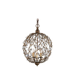 Crystal Bud Sphere Chandelier | General lighting | Currey & Company