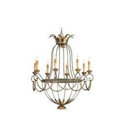 Elegance Chandelier | General lighting | Currey & Company