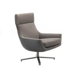 Joy swivel armchair | Lounge chairs | Marelli