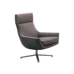 Joy swivel armchair | Fauteuils d'attente | Giulio Marelli