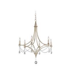 Etiquette Chandelier | General lighting | Currey & Company