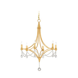 Etiquette Chandelier | General lighting | Currey & Company