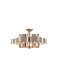 Grand Lotus Chandelier | General lighting | Currey & Company